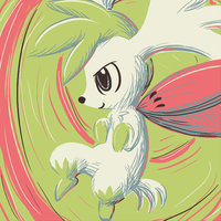 shaymin by Peegeray