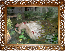 Hamlet - Ophelia by Redilion
