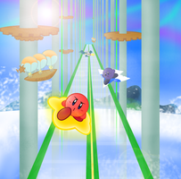 Kirby Air Glide by pikmin789