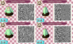 Vanellope's Shirt QR Codes by SagePrincess97