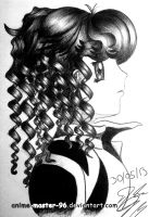 Hair Study from the Imagination (4) by anime-master-96