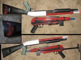 Borderlands custom airsofts by Hito-san