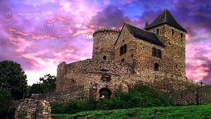 Bedzin Medieval Castle in HDR (Poland) by TheIcemanPL