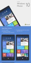 Windows Phone 10 Concept by altavizta