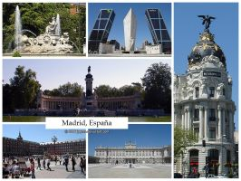 Postcard - Madrid, Spain by jpgmn