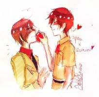 Spain And Romano by THE-L0LLIP0P