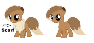 Custom Filly for - askbloodydash by iPandacakes
