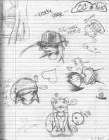 Doodle Page by Yukintou