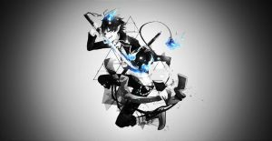 Rin Okumura Wallpaper by animeloverxxxxx