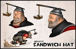 TF2 - Sandwich Hat by RatchetMario