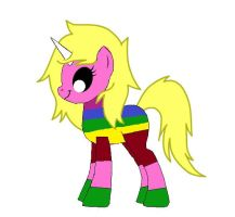 MLP: Lady Rainicorn from 'Adventure Time' by Lady-Sofia