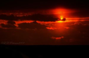 Fire in the Sky - HDR by sillverrfoxx