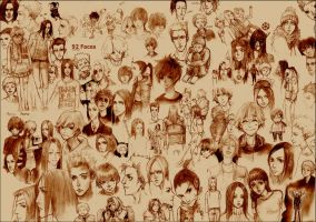 92 Faces by Furipon