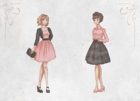 Casual Romantic Outfits by Ninelyn