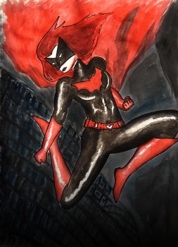 Batwoman by BlaqkElectric