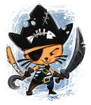 Pirate Cat by taylorsmith03