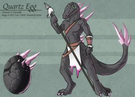 Quartz Egg (Hatched Adoptable) by Ulario