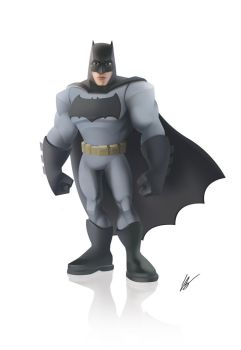 Batman - Disney Infinity style by dreelrayk