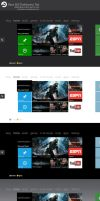 Xbox 360 Refreshed Dashboard by sharkurban