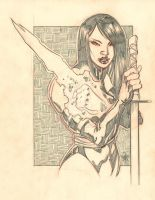 PENCIL COMMISSION: PSYLOCKE by stalk