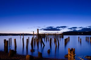 Sunset at Titlow by rome99