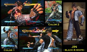 SFxT Mod: Jin - Black and White by moedjoer