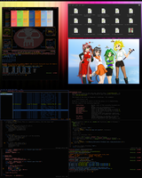 Colorful Underground - OpenBSD by pkmurugan