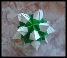 Spiked Icosahedron by lonely--soldier
