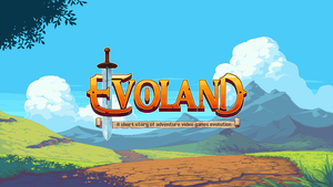 Evoland Titlescreen by Kurunya