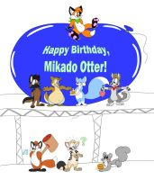 [BELATED Birthday Gift] for mikado~otter by RupertBlueFox