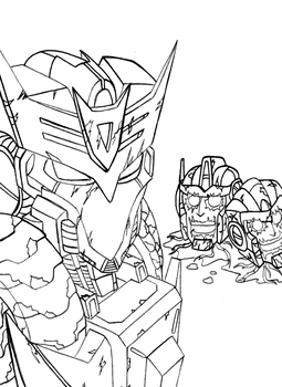 Tarn and the lanterns lines by SolidStateScouter