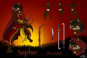 CM, Xepher the Jackal ref. by Toughset