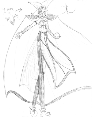 Ringo, Oracle of Eris- Sketch