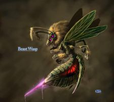 Beast Wasp by PenName-Kazeno