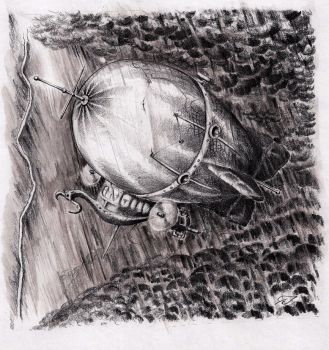 Airship by Zwelf