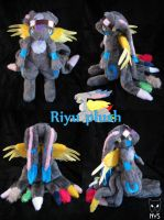 Riyu plush by Siplick