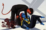 X-Men: And then they made love by Yoko-Wind
