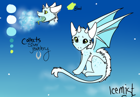 Icemist reference by wingedkin