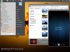 Windows 7 Basic Royale7 Silver by Kipet