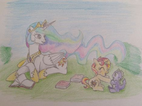 Request: Sunset's early years by FallenAngel5414