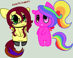 Cutie Biffles Blister Jones and Sketchbook Blitz by ChopstickGirl241