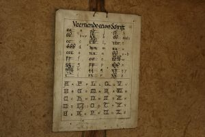Alphabet 14th Century by Dewfooter