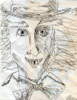 Depp as the Hatter by TimBurtonSon77
