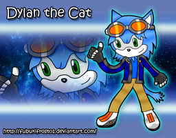 CE: Dylan the Cat by FubukiFrost01