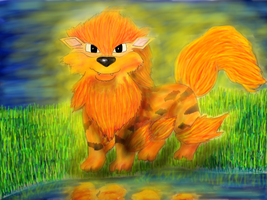 Arcanine by Barbarian--Warrior