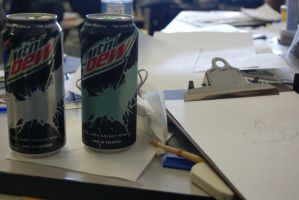 Awesome Mountain Dew Cans!! by DOOMdude1990