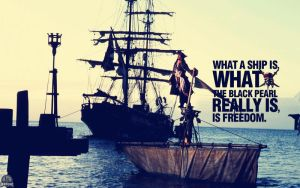 Jack Sparrow Set Sail Wallpaper by lisong24kobe