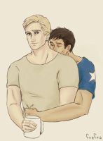 Steve/Tony: Coffee by frafru