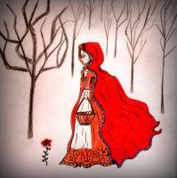 Little Red Riding Hood by avadaxxxkedavra