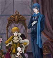 His Butler, Crossover by Calling-All-Angelz